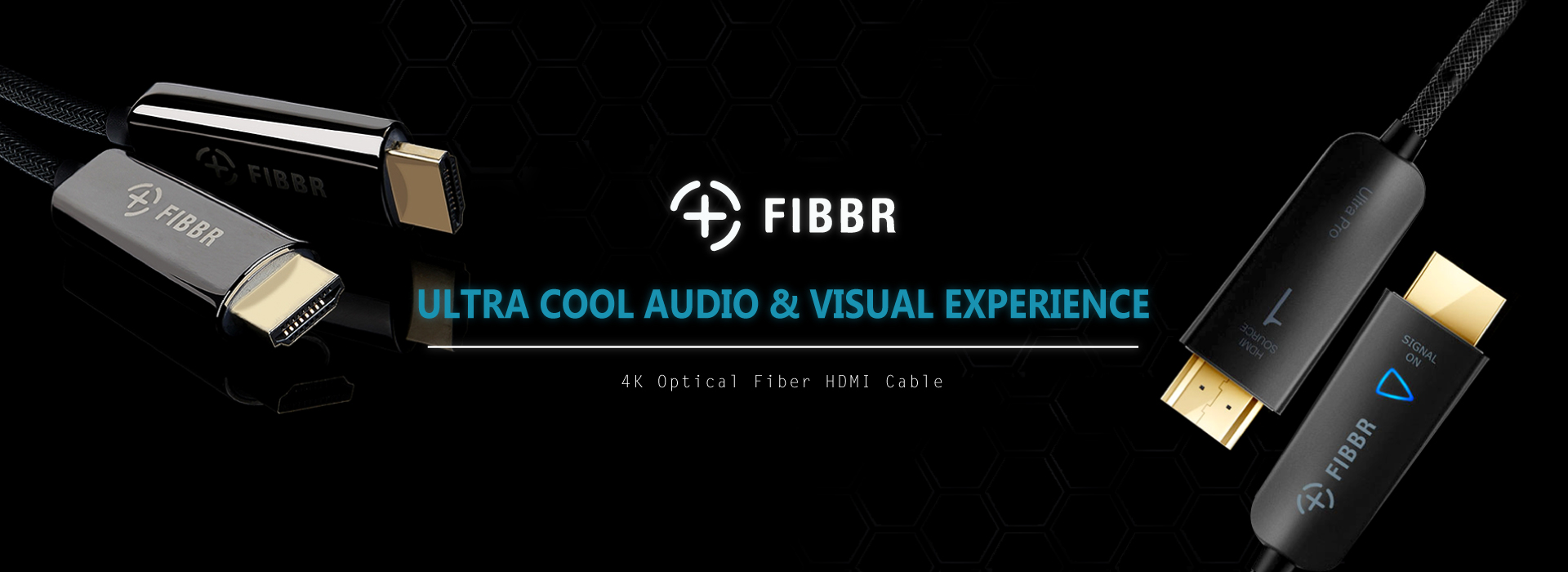 FIBBR Fiber Optic 4K HDMI Cable